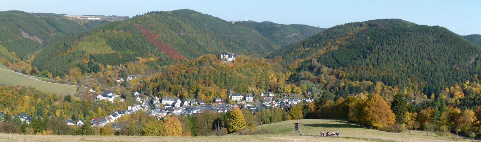 Stadt Leutenberg im Freistaat Thüringen