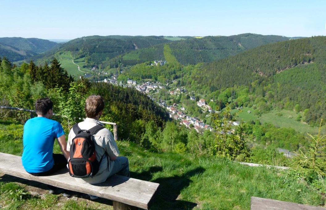 Siebentaelerblick Im Naturpark