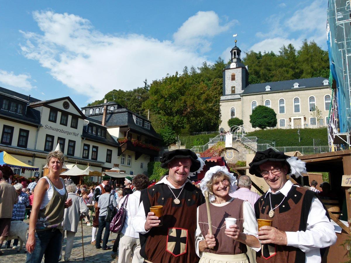 Zum Mittelalterfest In Thueringen