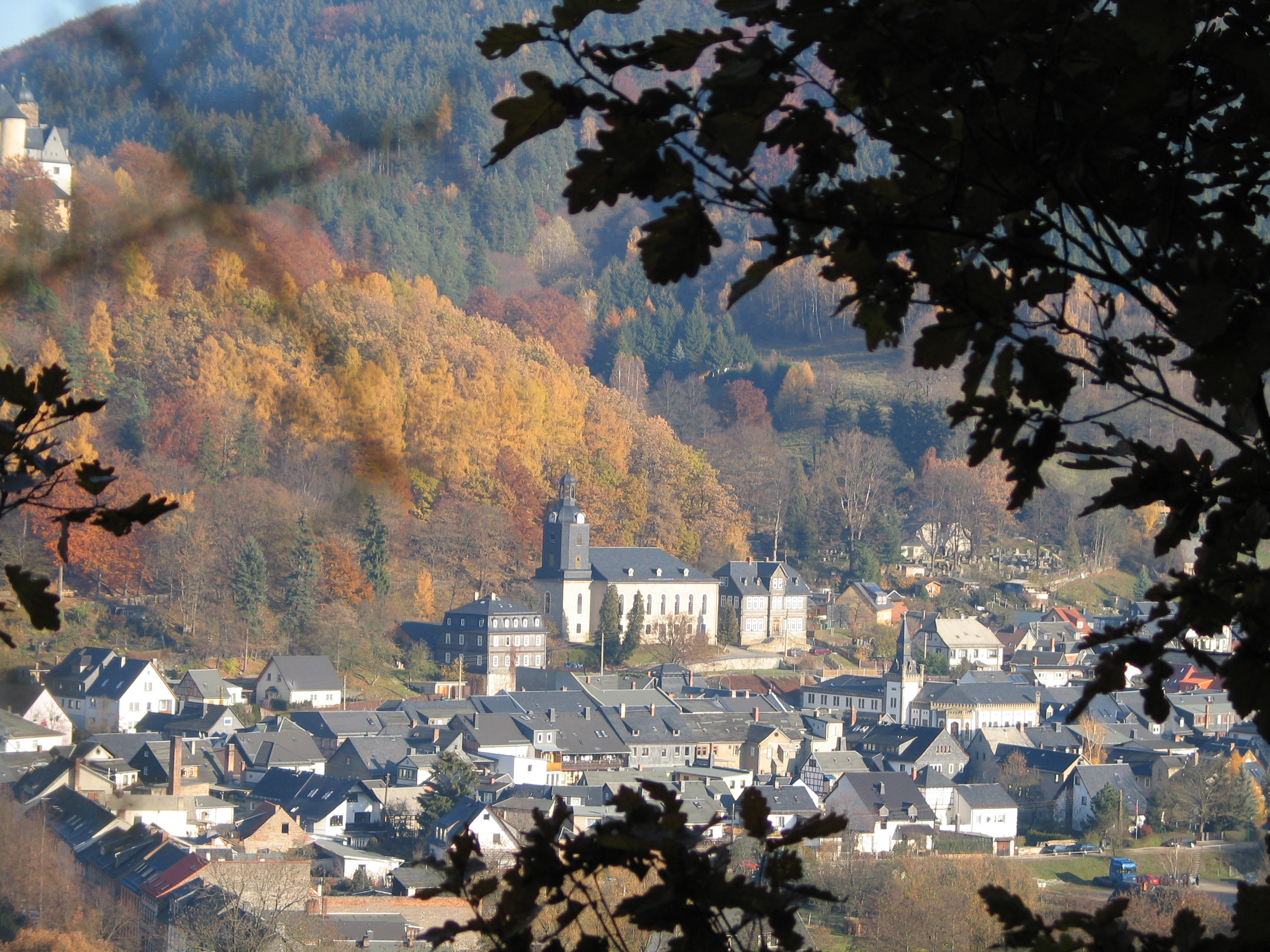 Goldener Herbst In Thüringen