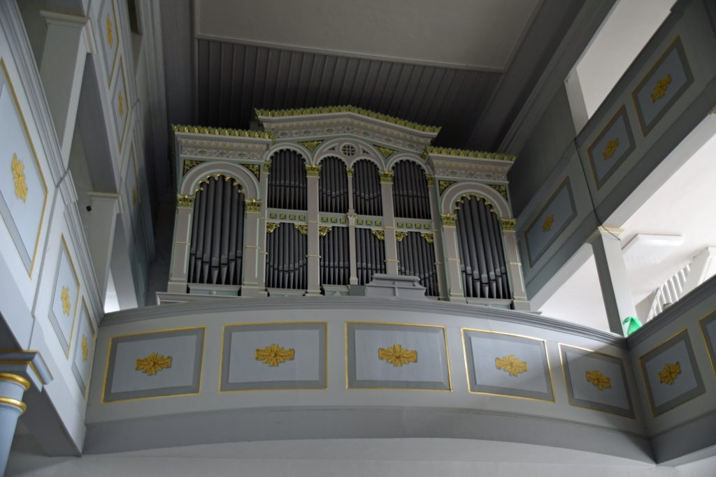 Orgel Stadtkirche Leutenberg