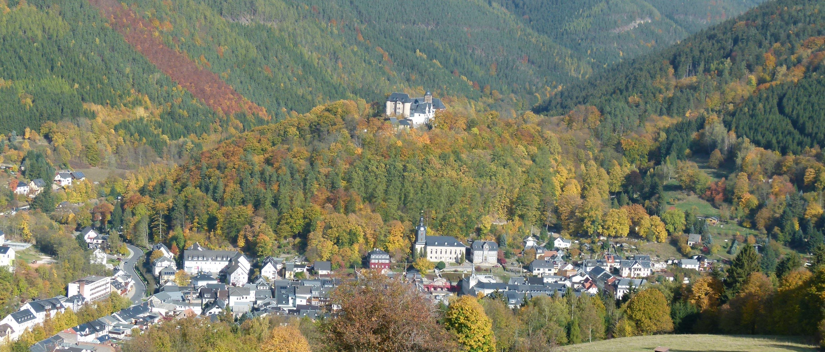 Leutenberg - Stadt Im Thüringer Wald