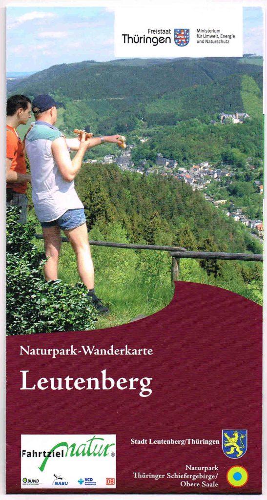 Naturpark-Wanderkarte Leutenberg